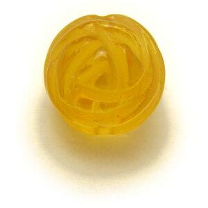 丸型10mm 薔薇ビーズ シトリンクォーツ 風水 パワーストーン