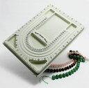 ストーン ビーズデザインボード ネックレス デザイナー アウトレット