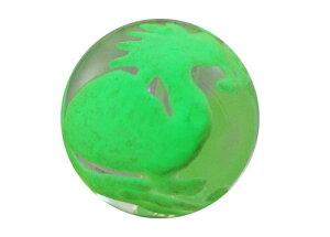 彫刻ビーズ 水晶手彫り玉 (夜光) 龍亀 彫り水晶12mm 1粒売り バラ売り 手作りにオススメ! 天然石 パワーストーン