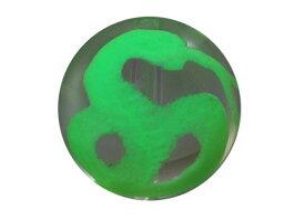 彫刻ビーズ 水晶手彫り玉 (夜光) 白蛇の手彫り玉 彫り水晶10mm 1粒売り バラ売り 手作りにオススメ! 天然石 パワーストーン