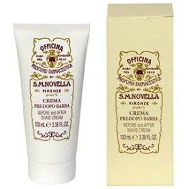 サンタ マリア ノヴェッラ プレ&アフターシェービングクリーム 100ml Santa Maria Novella Before/After Shaving Cream [12270]