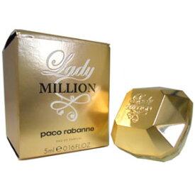パコラバンヌ レディミリオン オードパルファム 5ml ミニ香水 ミニボトル PACO RABANNE LADY MILLION EDP
