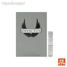 パコラバンヌ インビクタス オードトワレ 1.5ml PACO RABANNE INVICTUS EDT (トライアル香水)