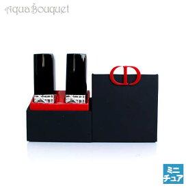 ディオール ルージュ ミニチュアセット1.4g×2本 ( 999 ) ROUGE DIOR LIPSTICK MINI SET 999 [3288]
