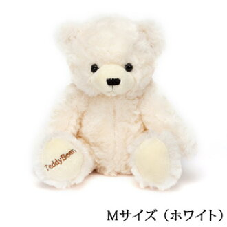 "Giving a teddy bear along with the jewelry?! ""gift wrapping, Teddy bear plush choice / white size M"" ToS"