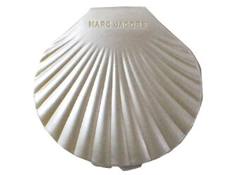"""Marc Jacobs [MARC JACOBS] Shell Shell compact mirror WHITE (Pearl White)"" now available!"