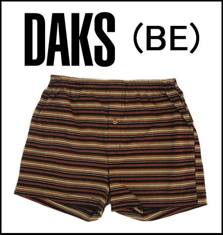 【DAKS LONDON】ダックス紳士メンズ ニットトランクスパンツ前開き【送料無料】