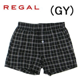 【REGAL】リーガル 紳士メンズ ニットトランクスパンツ前開き日本製綿100%送料無料ギフトラッピング無料父の日敬老の日内祝いお見舞い 快気祝いお誕生日 記念日プレゼントに最適