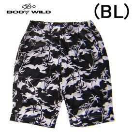 【BODYWILD for MEN】ボディワイルド メンズ グンゼ半パンツ ハーフパンツヤシの木柄イエナカファッションルームパンツパジャマアンダー2020 新作春夏物