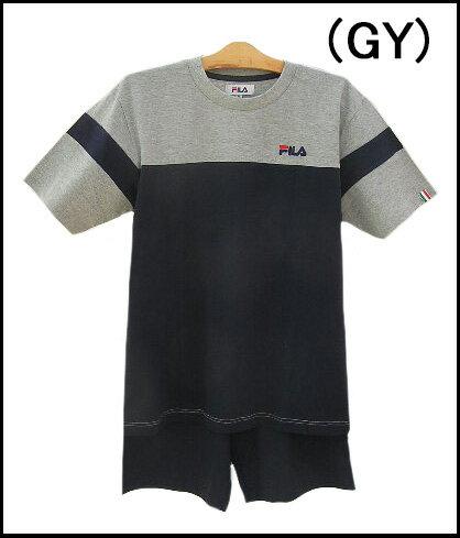 【GUNZE FILA】『グンゼ フィラ メンズパジャマ』半袖+半パンツメンズパジャマゆったりLLサイズ【送料無料】【ギフトラッピング対応商品】