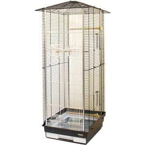 鳥かご HOEI 35小鳥ロングハウス(組立てサイズ:幅465x奥行き420x高さ1,000mm)※大型商品の為、別途送料加算