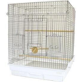鳥かご HOEI 465オカメ ステンレス ※大型商品の為、別途送料加算