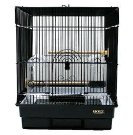 鳥かご HOEI 35角ブラック網塗装(組立サイズ:370x415x440mm)