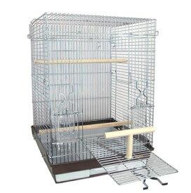 鳥かご HOEI 465パラキート 底カラー:ブラウン(組立サイズ:465x465x650mm)【送料無料】