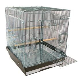 鳥かご HOEI 465インコ手のり 底カラー:ブラウン(組立サイズ:465x465x565mm)【送料無料】