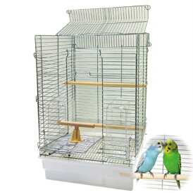 鳥かご HOEI 35手のりホライズン 底カラー:ホワイト(組立サイズ:370x415x545mm) 【送料無料】