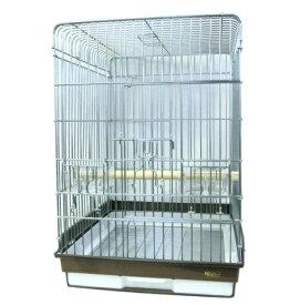 鳥かご HOEI 465オウム 底カラー:ブラウン(組立サイズ:465x465x660mm) ※大型商品の為別途送料加算