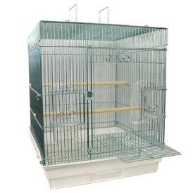 鳥かご HOEI 465インコ手のり 底カラー:ホワイト(組立サイズ:465x465x565mm)【送料無料】
