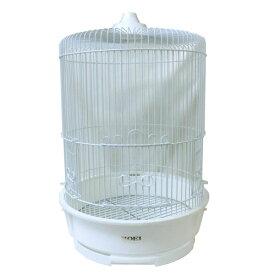 小鳥かご ホーエー R440(M) 白塗装(サイズ:330φx高さ515mm)