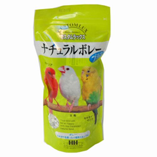 小鳥のエサ カルシウム かきがら フード/カスタムラックス ナチュラルボレープラス 200g