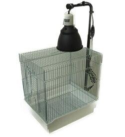 カーボンペットヒータースタンドセット 小鳥ケージ/保温器具/照射/速暖/ハ虫類ケージ