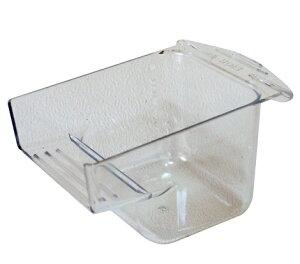 HOEI 35クリアカップ 鳥かご用エサ・水入れ
