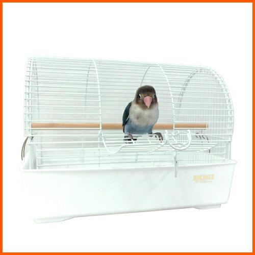 ☆小鳥用キャリー ミレニアムアーチ ホワイト