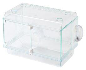 ハムスター ケージ GEX グラスハーモニー450プラス(サイズ:幅46.8x奥行31x高さ28.2cm)