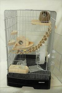 モモンガ飼育DXセット 37ハイBK / モモンガ飼育セット 小動物 イージーホーム