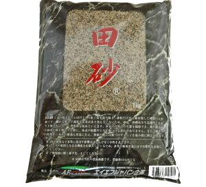 水槽の砂 川砂 金魚 / 田砂 (たずな)1kg