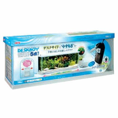 水槽セット 金魚セット ろ過器付/ GEX デスクボーイホワイト600 5点セット【あす楽】