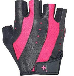 HARBINGER 女性用プログローブ Pro Glove ウォッシュ&ドライ ブラック/ピンク(M)