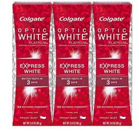 3個セット コルゲート エクスプレスホワイト 85g Colgate Optic White Express White Toothpaste