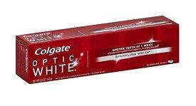 コルゲート Colgate オプティックホワイト スパークリング ミント 歯磨き粉 141g(5oz)