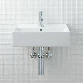 LIXIL INAX サティス洗面器(YL-555タイプ) 壁掛式 床排水(Sトラップ) YL-A555TA(C) YL-A555TB(C)
