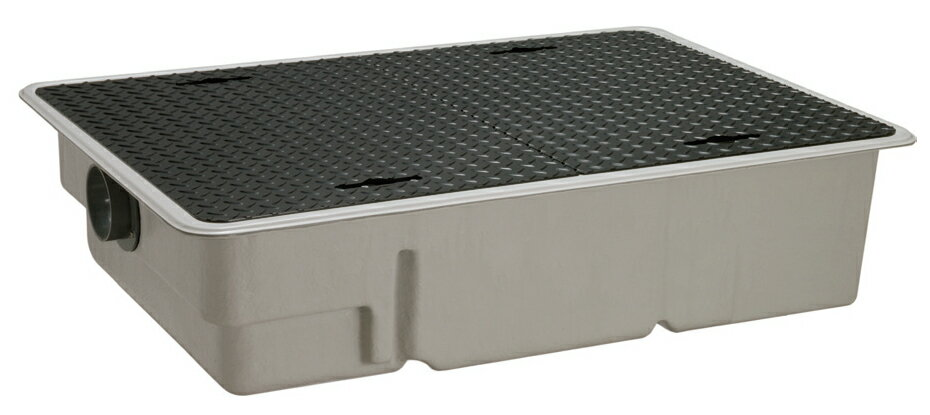 前澤化成工業 FRP製グリーストラップ パイプ流入超浅型(容量80L) GT-XL80P【GT-60PLX後継品】