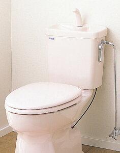 セキスイ(SEKISUI) 簡易水洗便器リブレット 洋風陶器製手洗付ロータンク式 KY-TD(N) 暖房便座仕様 RVK41P