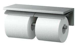 TOTO 棚付2連紙巻器 アルミ製 YH700AD