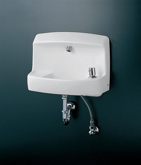 TOTO コンパクト手洗器 ハンドル式水栓セット LSL870AP LSL870AS