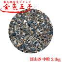 アクアシステム - 金魚王子 渓山砂 中粒 3.1kg