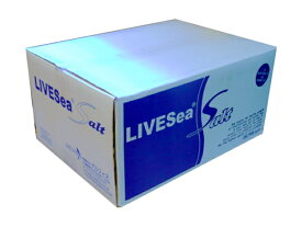 (大型商品)デルフィス ライブシーソルト 600L用(200L×3袋) 海水用品 人工海水