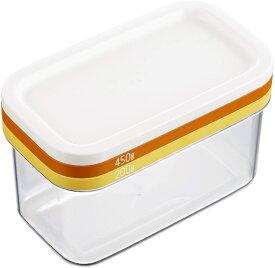 バターケース バターカッティングケース ST-3006 (約16.7×9.5×10.2cm)業務用ポンドバター450gを約10gのうす切りにかんたんカット/市販の200gのバターを約5gのうす切りにカットできる