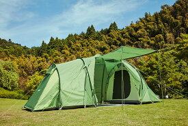ハスキー テント トンネルテント Boston 6 Husky カマボコテント ファミリーテント ツールームテント 2ルーム 6人用 5人用 4人用 大型テント