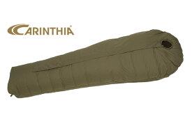 フィンランドの極寒地域遠征軍も愛用している シュラフ Carinthia カリンシア Defence 4 シュラフ マミー型 寝袋 冬用 ミリタリーシュラフ 撥水加工 キャンプ用品 アウトドア用品