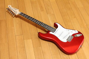 ARIA Legend LST-MINI CA(Candy Apple Red) アリア ミニエレキギター チューナープレゼント! 調整しお届けします!