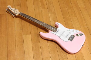 ARIA Legend LST-MINI KWPK(Kawaii Pink)アリア ミニエレキギター チューナープレゼント! 調整しお届けします!