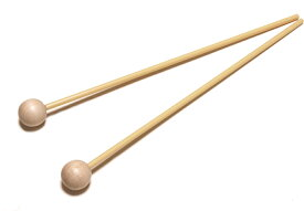 Chukan 木琴用バチ XC-S(柄:プラスチック材)1ペア卓上木琴用マレット