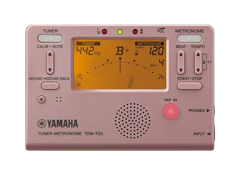 YAMAHA TDM-700P 【TDM700P】チューナーメトロノーム