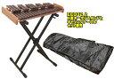 KOROGI ECO32 + X型キーボドスタンド + キャリングケース SET コオロギ社 卓上木琴とオリジナル企画・スタンド と…