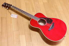 YAMAHA FS820 RR ルビーレッド チューナーお手入れ用クロスワインダーストラップ交換用弦ピックx2枚プレゼント!